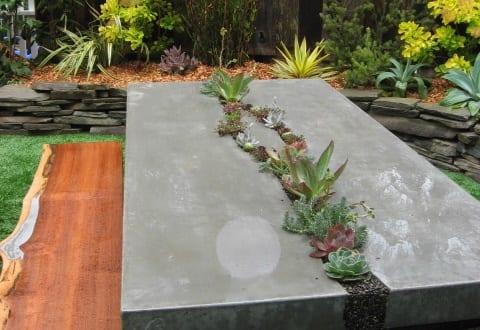 basteln mit beton gartenm bel aus beton freshouse. Black Bedroom Furniture Sets. Home Design Ideas