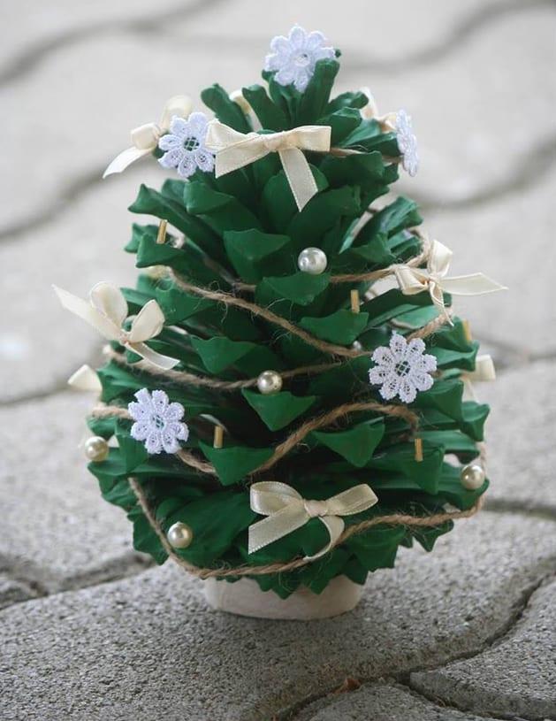 Basteln Mit Naturmaterialien Weihnachtsdeko Selber Machen