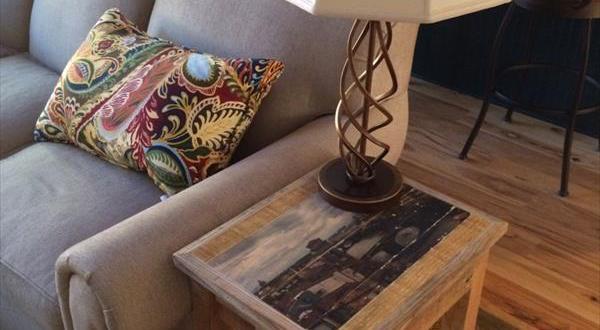 beistelltisch aus paletten freshouse. Black Bedroom Furniture Sets. Home Design Ideas