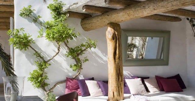 Beschattung terrasse mit terrassen berdachung holz wpc for Mediterrane zimmergestaltung