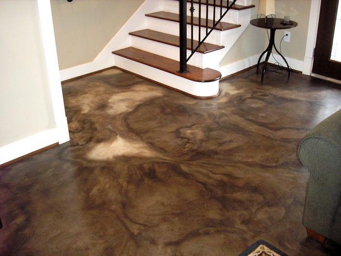 Fußbodenbelag ~ Beton braun fußbodenbelag braun aus beton freshouse