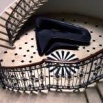 schicke möblierung in dunkelblau-schickes möbelstück für modulare und pragmatische einrichtung