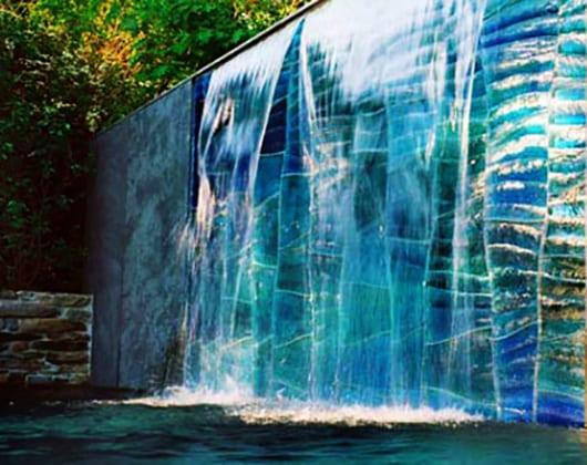 Cascade Wasserfall Glaswand Von SWON Design