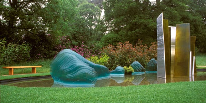 Coole Gartenskulpturen Aus Flachglas U2013 Schöne Gartenideen