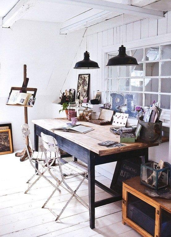 einrichtungsideen wohnzimmer rustikal mit dachschräge und sitzecke ...