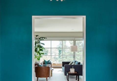 farbpalette wandfarbe blau wand stereichen ideen freshouse. Black Bedroom Furniture Sets. Home Design Ideas