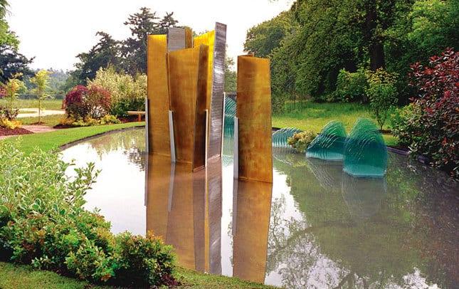 GroBartig Garten Und Landschaftsbau Mit Skulptur Aus Glas