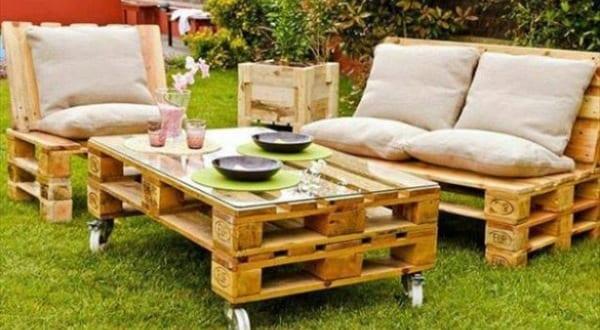 Coole Gartenmöbel gartenmöbel aus paletten für coole gartengestaltung freshouse