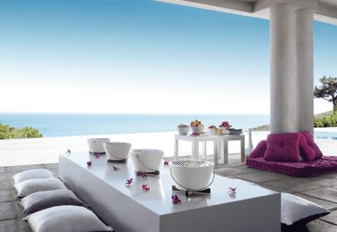 Balkon Ideen fürs Grillen mit 22 modernen Modellen BBQ