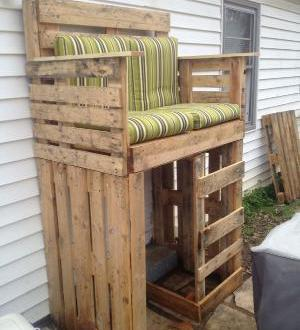hundeh tte und gatenm bel aus paletten freshouse. Black Bedroom Furniture Sets. Home Design Ideas