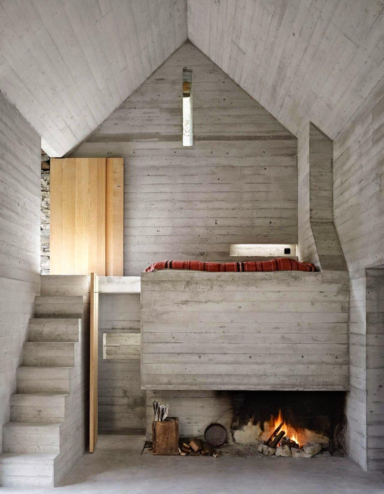 Kleines betonbau minimalistisches haus aus beton freshouse for Minimalistisches haus