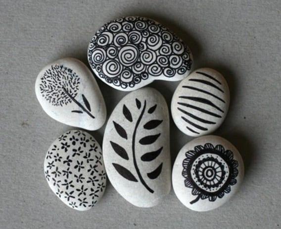 Kreative Bastelideen Zum Selber Machen Basteln Mit Natursteinen