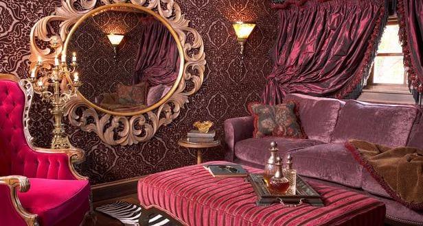 Luxus Interior Design Im Barock Stil Wohnzimmer Farbgestaltung Pink
