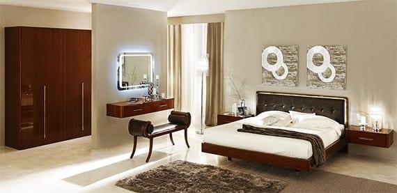 Luxus Schlafzimmer Set Schlafzimmer Inspiration Mit Wandfarbe Grau