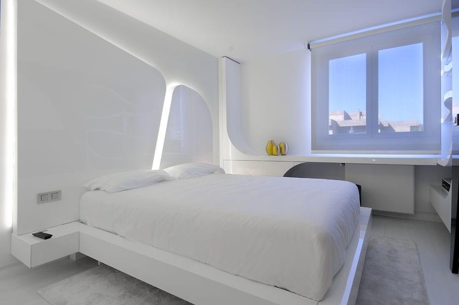 Entzuckend Luxus Schlafzimmer Weiß Schicke Maisonette