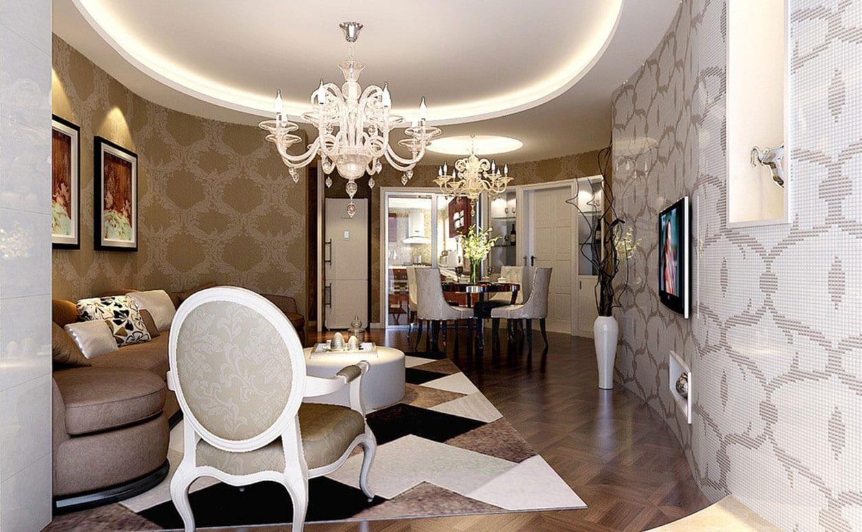 Luxus Wohn Esszimmer Mit Mosaik