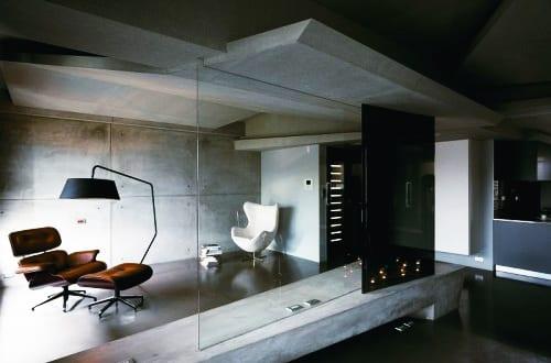 Luxus wohnung aus beton modernes interior mit sichtbeton for Wohnung interior