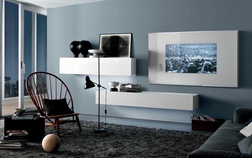 luxus wohnzimmer hellblau wohnzimmergestaltung mit. Black Bedroom Furniture Sets. Home Design Ideas