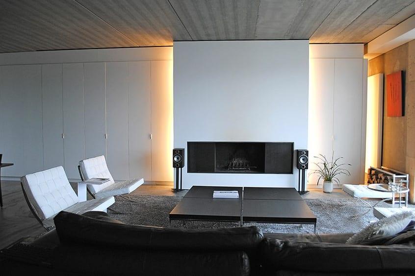Luxus Wohnzimmer Minimalismus Freshouse