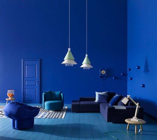 lzxus wohnzimmer mit wandfarbe blau sch ne wandfarben. Black Bedroom Furniture Sets. Home Design Ideas
