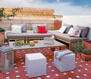 Moderne Dachterrasse Gestalten Mit Sichtschutz Aus Holz Und Diy
