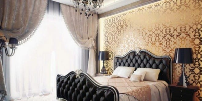 modernes schlafzimmer inspiration im barock. Black Bedroom Furniture Sets. Home Design Ideas