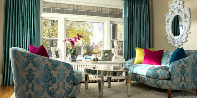 modernes wohnzimmer blau im barock stil zimmergestaltung. Black Bedroom Furniture Sets. Home Design Ideas