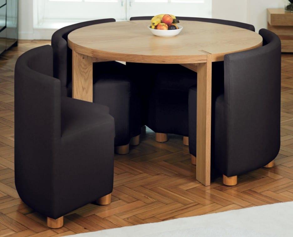 Fesselnd Runder Tisch Für Kleine Räume