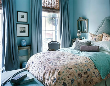 Schöne Wandfarbe Hellblau Schlafzimmer Inspiration