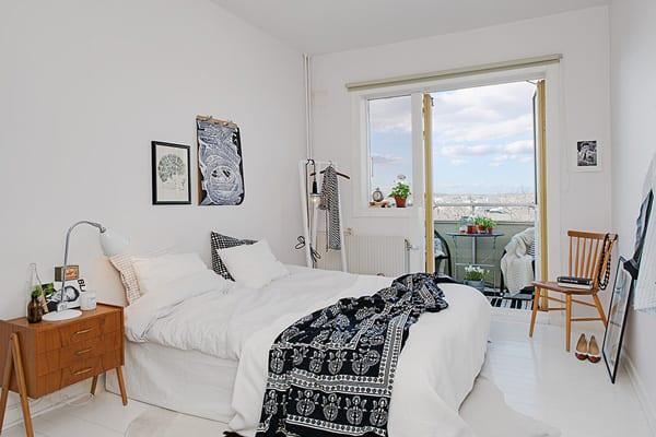 Schlafzimmer Ideen In Weiß Für Kleine Zweiraumwohnungen