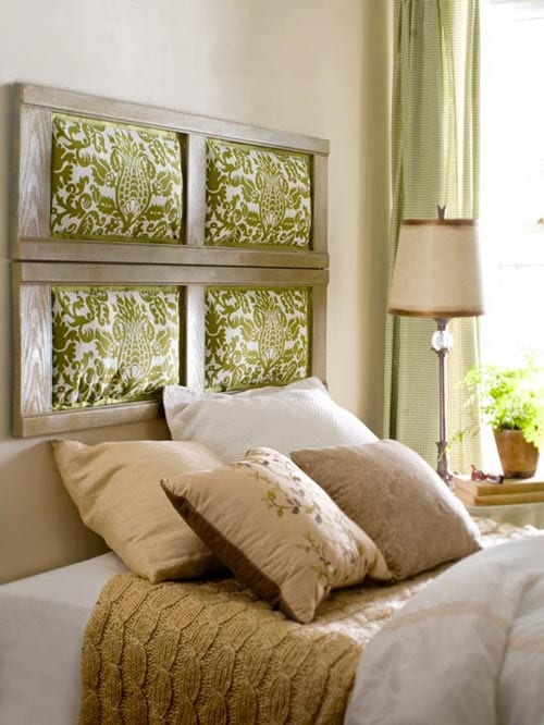 Schlafzimmer Inspiration Für Kleine Schlafzimmereinrichtung In Grün Und  Beige