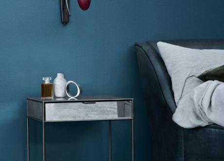 Schlafzimmer Streichen Mit Wandfarbe Blau Schlafzimmer Inspiration