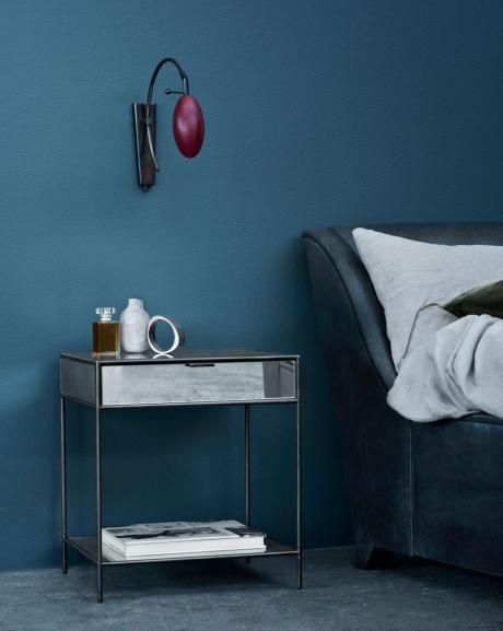Delightful Schlafzimmer Streichen Mit Wandfarbe Blau Schlafzimmer Inspiration