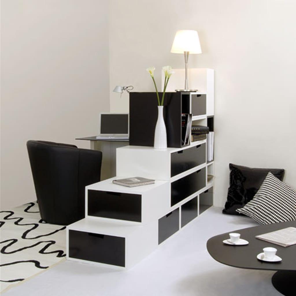 schwarz weiße wohnzimmer-kleines wohnzimmer gestalten ...