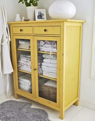 sideboard gelb freshouse. Black Bedroom Furniture Sets. Home Design Ideas