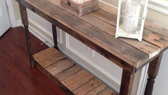 sideboard selber bauen-wohnideen flur