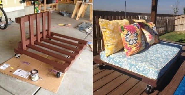 sofa aus paletten ideen f r gartenm bel aus paletten freshouse. Black Bedroom Furniture Sets. Home Design Ideas