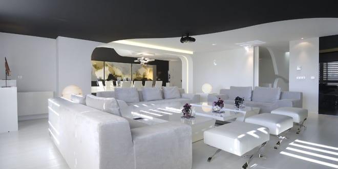 Stylisches Wohnzimmer Inspirationen Für Maisonette - Freshouse