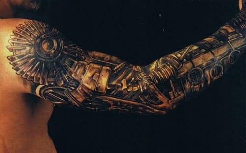 tattoo biomechanik arm freshouse. Black Bedroom Furniture Sets. Home Design Ideas