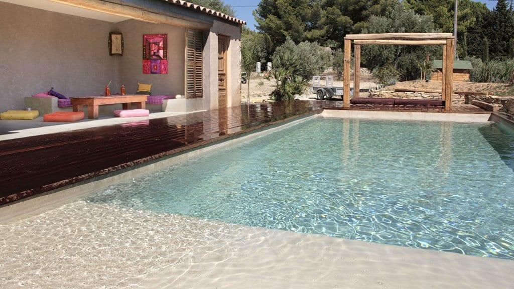 terassen ideen f r terrassengarten mit wpc terrasse und. Black Bedroom Furniture Sets. Home Design Ideas