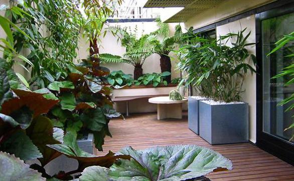 Terrasse Gestalten Mit Pflanzen Freshouse