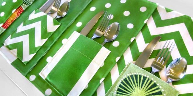 Tischdecke nähen – elegante DIY Tischdecken für den Esstisch