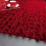 moderner teppich rot-wohnideen teppich