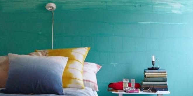 wandfarbe blau- schlafzimmer in hellblau streichen - freshouse - Wohnzimmer Blau Streichen