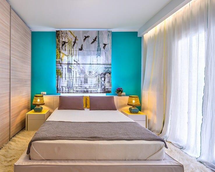 Wandfarbe blau schlafzimmer streichen in hellblau freshouse - Wandfarbe schlafzimmer ...
