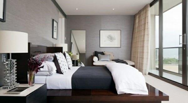 Erstaunlich Wohnzimmer Inspiration Für Kleine Schlafzimmer Grau