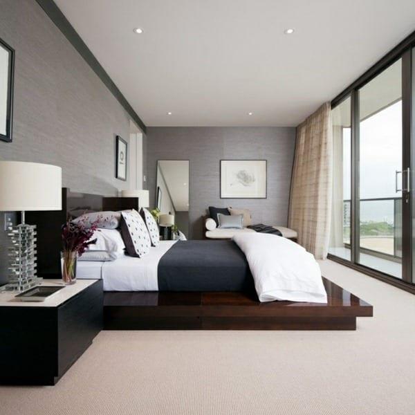 Wohnzimmer Inspiration Für Kleine Schlafzimmer Grau