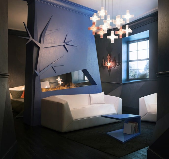 Zwei Raum Wohnungen-wohnzimmer Inspirationen Mit Wandfarbe