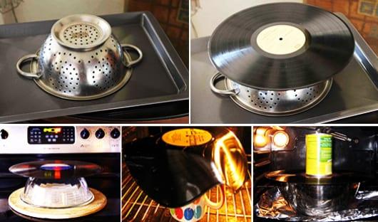 Diy Schalen Aus Schallplatten Als Kreative Tischdeko Freshouse