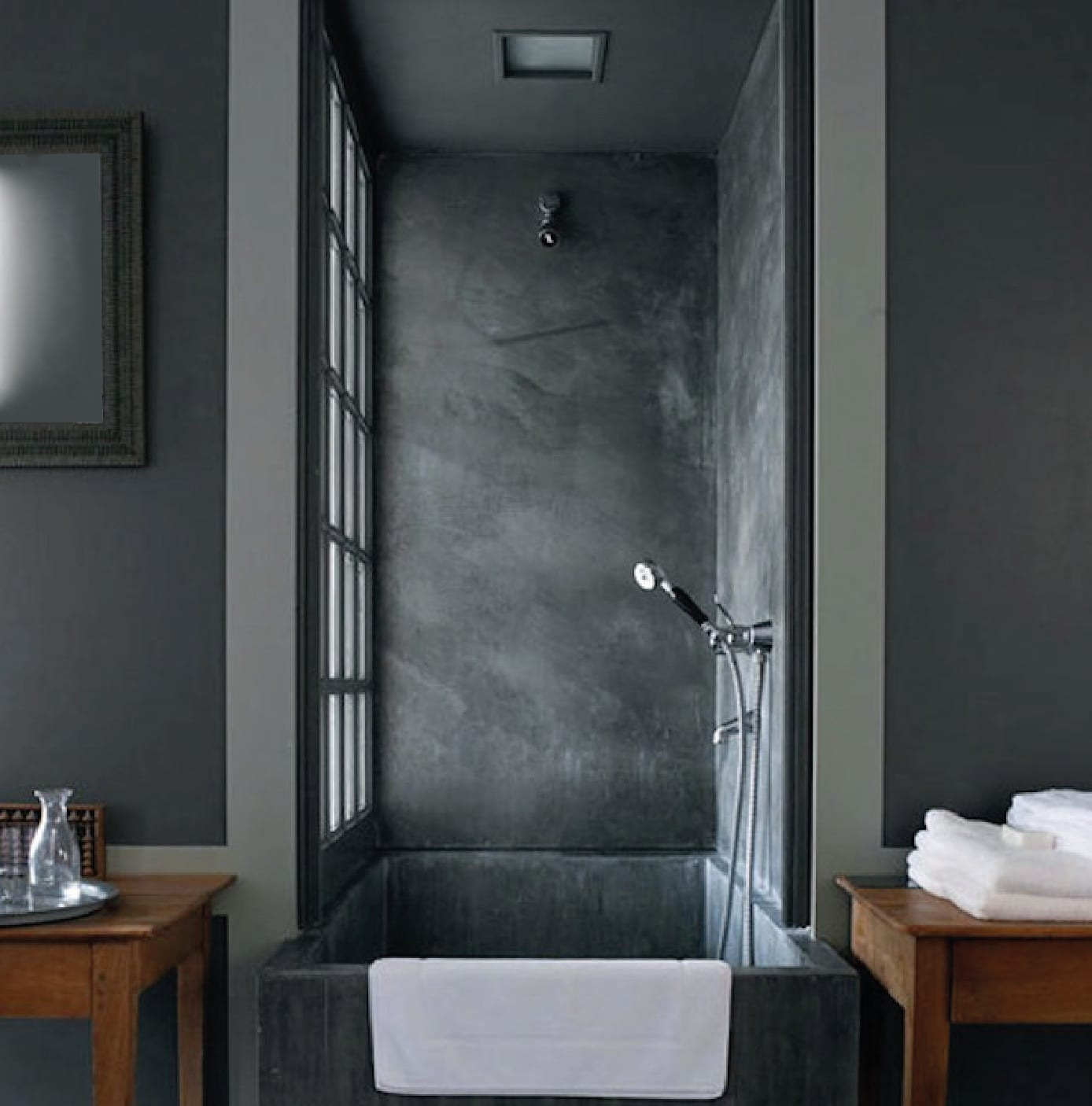 badezimmer grau als idee badezimmer klein - fresHouse
